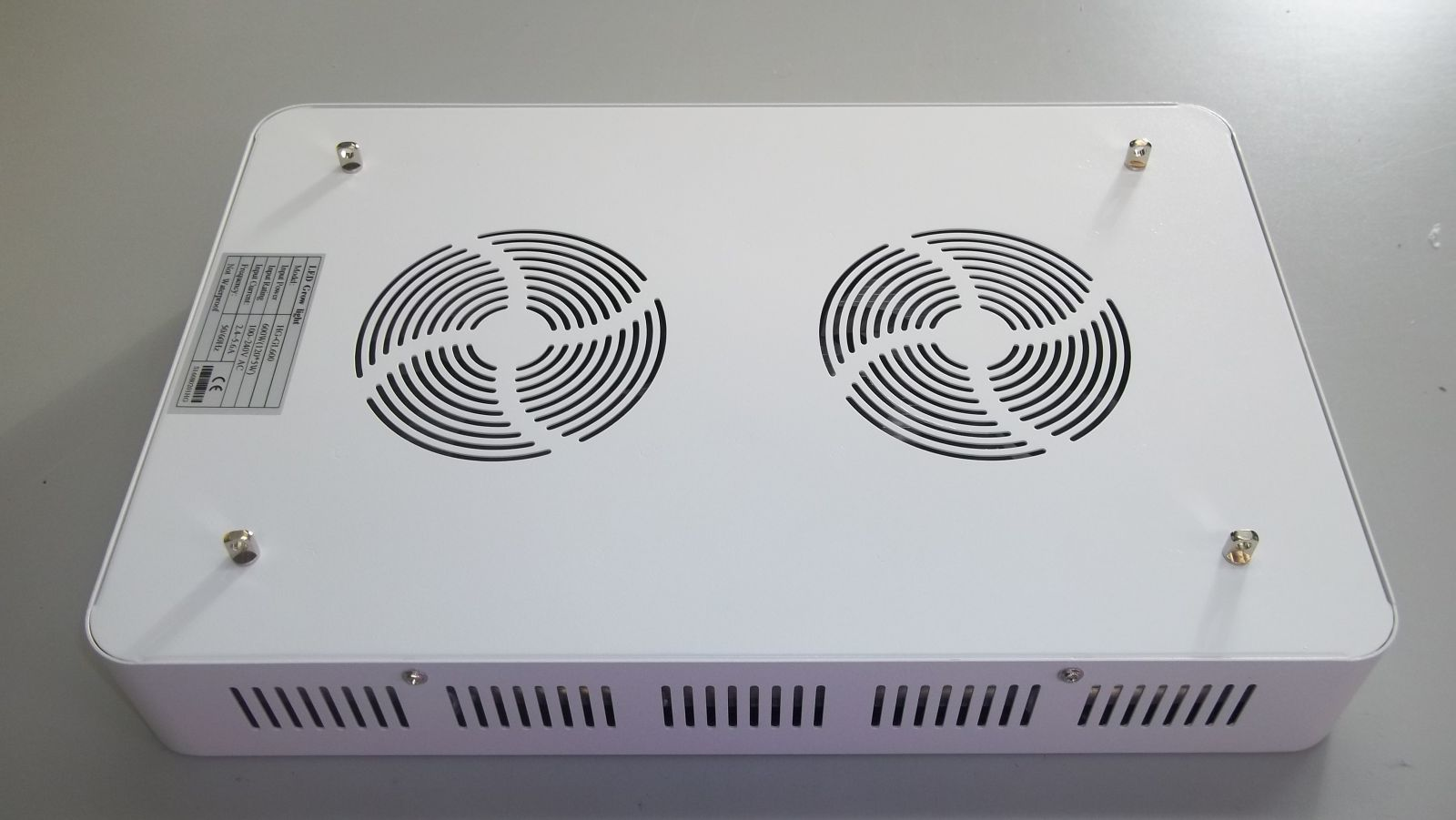higrow 600 watt led grow light fans