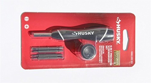 HUSKY 8-in-1 Precision Screwdriver - Phillips & Slotted