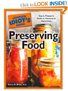 Preserving Food Book